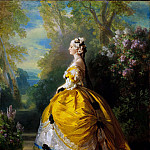 Franz Xavier Winterhalter - The Empress Eugénie