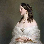 Franz Xavier Winterhalter - Portrait of Mrs Vanderbyl