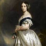 Franz Xavier Winterhalter - The Young Queen Victoria
