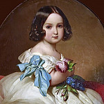 Princess Charlotte of Belgium, Empress of Mexico , Franz Xavier Winterhalter