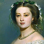 Franz Xavier Winterhalter - Victoria, Princess Royal (1840-1901)