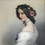 Franz Xavier Winterhalter - Lady Constance Leveson-Gower (1834-80), later Duchess of Westminster