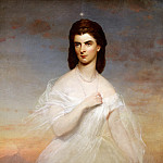 Franz Xavier Winterhalter - Portrait of Queen Maria Sophia of Naples