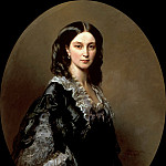 Franz Xavier Winterhalter - Portrait of the Countess Bariatinsky