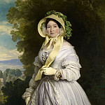 Franz Xavier Winterhalter - Juliane, Princess of Saxe-Coburg-Saalfield, Grand Duchess Anna Feodorovna of Russia