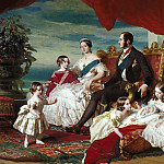 Franz Xavier Winterhalter - The Royal Family