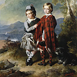 Franz Xavier Winterhalter - Albert Edward, Prince of Wales, with Prince Alfred