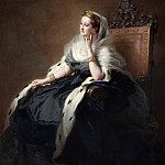 Franz Xavier Winterhalter - Portrait of Empress Eugenia
