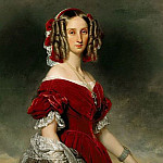 Louise, Queen of the Belgians , Franz Xavier Winterhalter