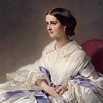 Franz Xavier Winterhalter - Portrait of Countess Olga Shuvalova