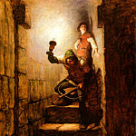 Newell Convers Wyeth - N.C.Wyeth_We Must Be in The Dungeons, Dick Remarked, 1916_sqs