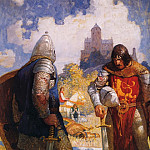 Newell Convers Wyeth - n_c_wyeth_sir_launcelot