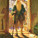 Newell Convers Wyeth - Rip Van Winkle_0007_Twenty Years Later_N.C.Wyeth_sqs