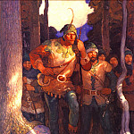 Newell Convers Wyeth - Robin Hood the Men of Greenwood