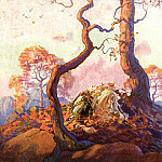 Newell Convers Wyeth - Rip Van Winkle_0006_Unknown Title_N.C.Wyeth_sqs