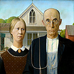 Édouard Manet - American Gothic