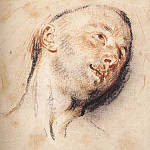 Jean-Antoine Watteau - Head_of_a_Man_WGA