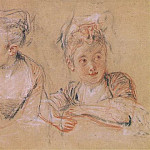 Jean-Antoine Watteau - little-girl