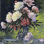Unknown painters - Peonies