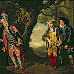The Duel, from Act 3, scene 4 of Twelfth Night