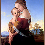 p vp William Dyce Madonna and Child, William Dyce