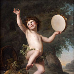 Cupid as Bacchus, Adolf Ulrik Wertmüller