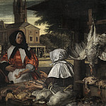Francisco De Zurbaran - The Birdmarket, Amsterdam