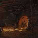 Josef Wilhelm Wallander - The blast furnace