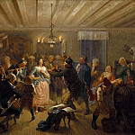 Louis Adrien Masreliez - The Concert at Tre Byttor