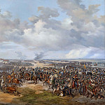 Unknown painters - Swedish Troops Assaulting the Town Gate of Leipzig, October 19, 1813
