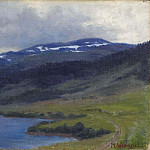 Unknown painters - Mullfjället seen from Åre