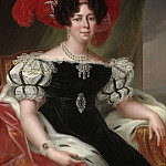 Unknown painters - Desideria (1781-1860), queen of Sweden and Norway, married to Karl XIV Johan