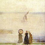 James Abbott Mcneill Whistler - Whistler_Battersea_Reach_from_Lindsey_Houses