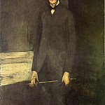 James Abbott Mcneill Whistler - Whistler Portrait of George W. Vanderbilt