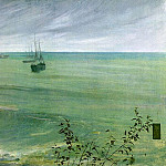 James Abbott Mcneill Whistler - Symphony_in_Grey_and_Green_The_Ocean