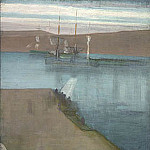 James Abbott Mcneill Whistler - Whistler_James_Abott_McNeill_Valparaiso_Harbor