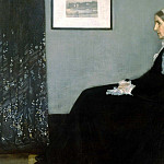 James Abbott Mcneill Whistler - Whistlers Mother, James Abbott McNeill Whistler - 1600x1200