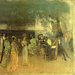 James Abbott Mcneill Whistler - Whistler_Cremorne_Gardens_No._2