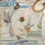 James Abbott Mcneill Whistler - Джеймс Эббот Макнил Уистлер - Белая симфония [The White Symphony Three Girls]