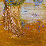 Джеймс Эббот Мак-Нейл Уистлер - Whistler Annabel Lee (Also known as Niobe), 1890, pastel o