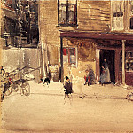 James Abbott Mcneill Whistler - Whistler_The_Shop_An_Exterior