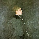 Джеймс Эббот Мак-Нейл Уистлер - Whistler Arrangement in Brown and Black_ Miss Rosa Corder, 1