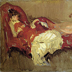 James Abbott Mcneill Whistler - Whistler_Note_in_Red_=_The_Siesta