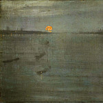 James Abbott Mcneill Whistler - Whistler James Nocturn Sun