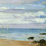 James Abbott Mcneill Whistler - Whistler_Blue_and_Silver_Trouville