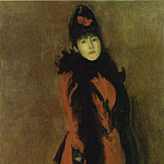 James Abbott Mcneill Whistler - red-black