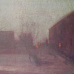 James Abbott Mcneill Whistler - Nocturne_Trafalgar_Square_Chelsea_Snow