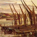 James Abbott Mcneill Whistler - Whistler_Battersea_Reach