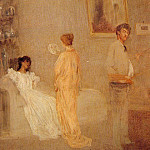 James Abbott Mcneill Whistler - Whistler_in_his_Studio