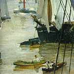 James Abbott Mcneill Whistler - wapping-detail